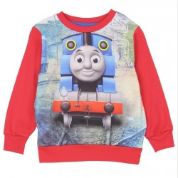 Thomas The Train Red Sublimated Fleece Sweatshirt