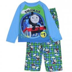 Thomas and Friends No1 Tank Engine Toddler Boys Fleece 2 Piece Pajama Set Space City Kids Clothing Store