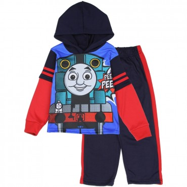 Thomas The Train Toddler 2-Piece Sublimated Fleece Set At Space City Kids Clothing