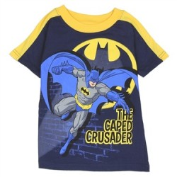 The Caped Crusader Batman Shirt From DC Comics
