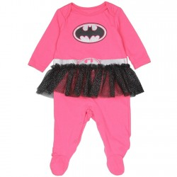 DC Comics Pink Batgirl Infant Girls Costume With Black Tutu At Space City Kids Clothing