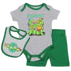 Teenage Mutant Ninja Turtles Pizza Time 3 Pc Set