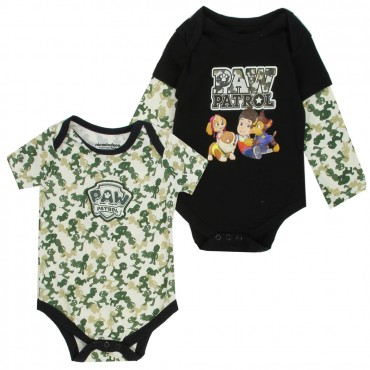 Nick Jr Paw Patrol Ryder Chase Rubble And Skye 2 Piece Onesie Set At Space City Kids Clothing