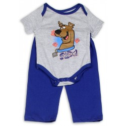 Scooy Doo Onesie And Pants Set