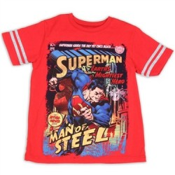 DC Comics Superman Saves The Day Yet Again T Shirt