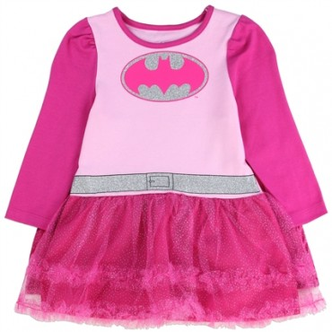 Batgirl Pink Tutu Dress With Matching Cape At Space City Kids Clothing Infant Clothes