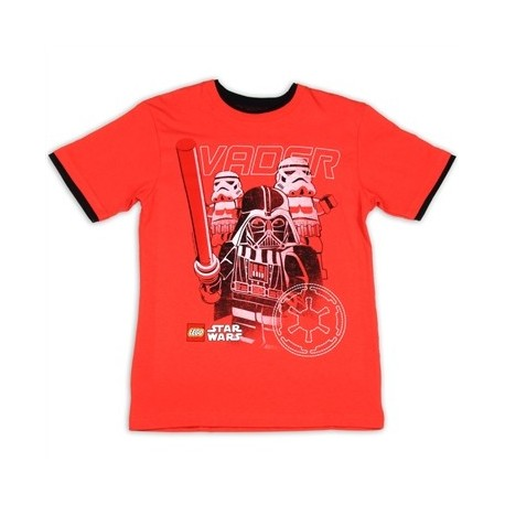 Darth Vader Legos Star Wars Red Graphic T Shirt