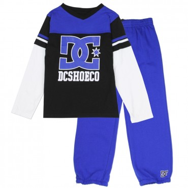 DC Shoe Company Long Sleeve Black Top And Fleece Pants At Space City Kids Clothing