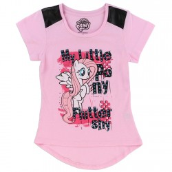 My Little Pony Fluttershy Pink Girls Shirt