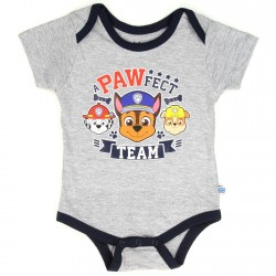 Nick Jr Paw Patrol A Pawfect Team Grey Infant Onesie With Chase Marshall And Rubble