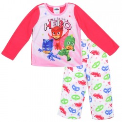 Disney Junior PJ Mask Catboy Gekko And Owlette Girls Pajama Set