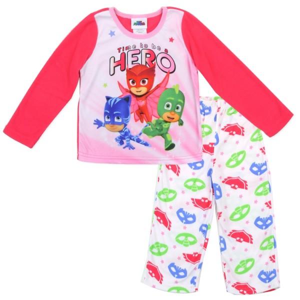 851a943aacdd Disney Junior PJ Mask Catboy Gekko And Owlette Girls Pajama Set