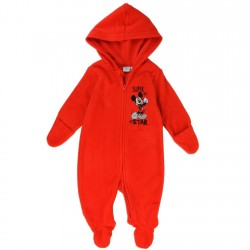 Mickey Mouse Superstar Red Footed Lightweight Polar Fleece Pram At Space City Kids Clothing Footed Sleeper