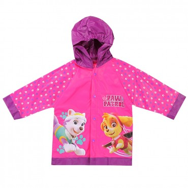Nick Jr Paw Patrol Skye And Everest Pink Girls Rain Coat At Space City Kids Clothing
