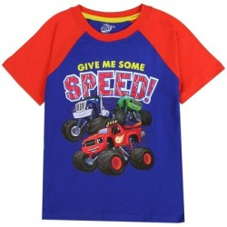 Nick Jr Blaze And The Monster Machines Give Me Speed Toddler Shirt At Space City Kids Clothing