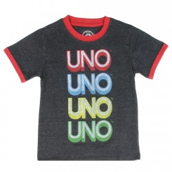 Mattel Toybox Treasures Uno The Card Game Infant Boys Shirt