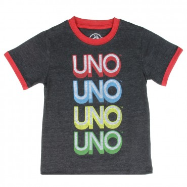 Mattel Toybox Treasures Uno The Card Game Infant Boys Shirt At Space City Kids Clothing