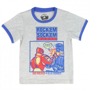 Mattel Toybox Treasures Rock'em Sock'em Robots Infant Boys Shirt At Space City Kids Clothing