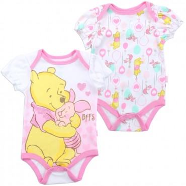 Disney Winnie The Pooh And Piglet BFF's 2 Piece Onesie Set At Space City Kids Clothing Store