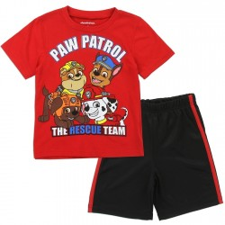 Nick Jr Paw Patrol The Rescue Team Toddler Boys Short Set