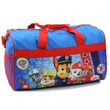 Nick Jr Paw Patrol We Saved The Day Blue Boys Duffel Bag At Space City Kids Clothing