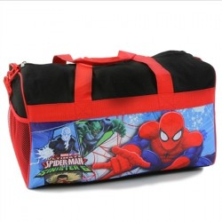 Marvel Comics Ultimate Spider Man vs Sinister 6 Boys Duffel Bag Space City Kids Clothing