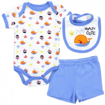 Buster Brown Whaley Cute Infant Boys 3 Piece Outfit Space City Kids Clothing