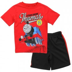 Thomas and Friends The Steam Engine Thomas Red Shirt With Black Short