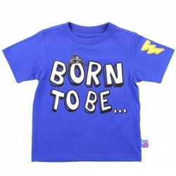 Sesame Street Grover Born To Be Super Blue Toddler Boys Shirt Space City Kids Clothing