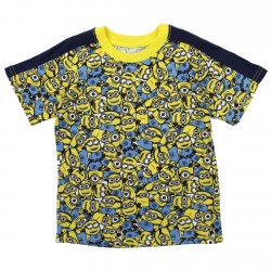Despicable Me Minions All Over Print Toddler Boys Print Shirt Space City Kids Clothing
