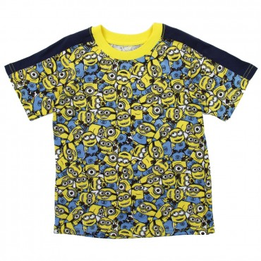 Despicable Me Minions All Over Print Toddler Print Shirt Space City Kids Clothing