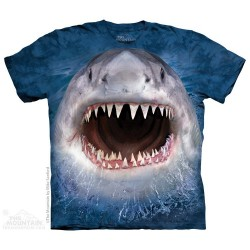 The Mountain Artwear Wicked Nasty Shark Shirt Sspace City Kids Clothing