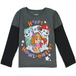 Nick Jr Paw Patrol Happy Halloween Toddler Girls Shirt
