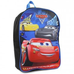 Disney Cars 3 Lightning McQueen And Jackson Storm Backpack