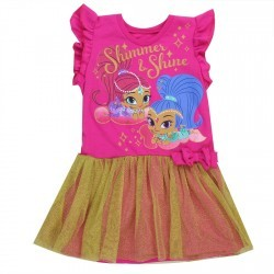 Nick Jr Shimer And Shine Toddler Girls Fashion Dress Space City Kids Clothing Store