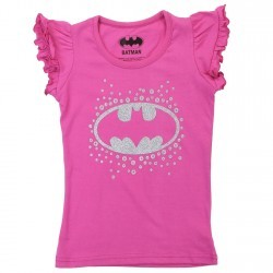 DC Comics Batgirl Pink Toddler Girls Princess Tee Space City Kids Clothing