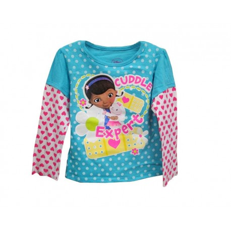 Disney Doc McStuffins Cuddle Expert Blue Long Sleeve Top