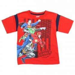 DC Comics The Justice League Shirt Space City Kids Clothing Store