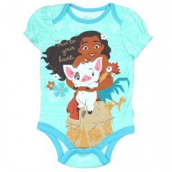 Disney Baby Moana True To Your Heart Baby Onesie Space City Kids Clothing Store