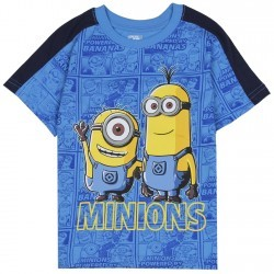 Despicable Me Minions All Over Print Toddler Boys Shirt Space City Kids Clothing Store