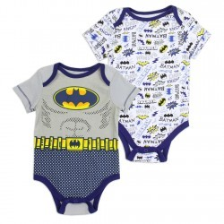 DC Comics Batman 2 Piece Onesie Set Space City Kids Clothing