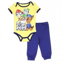 Nick Jr Paw Top Pups Infant Onesie and Pants Set