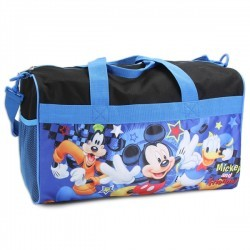 Disney Mickey Mouse and Friends Boys Duffle Bag Space City Kids Clothing Store