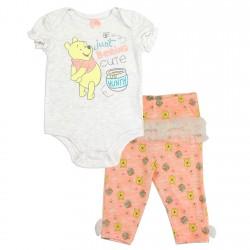 Disney Winnie The Pooh Just Beeing Cute Girls Onesie and Pants Set Space City Kids Clothing Store