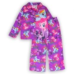 Hasbro My Little Pony Purple Girls 2 Piece Pajama Set