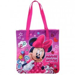 Disney Minnie Mouse Pink Zippered Tote Bag Space City Kids Clothng Store