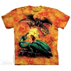 The Mountain Artwear Artist Meiklejohn Dragons The Duel Boys Shirt Space City Kids Clothing Store