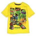 Nick Jr Teenage Mutant Ninja Turtles Yellow Graphic T Shirt