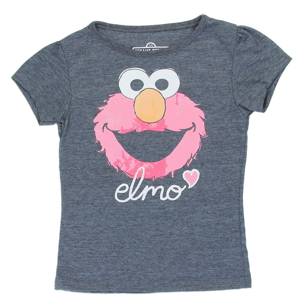 New Sesame Street Girls Newborn /& Toddler Shirts