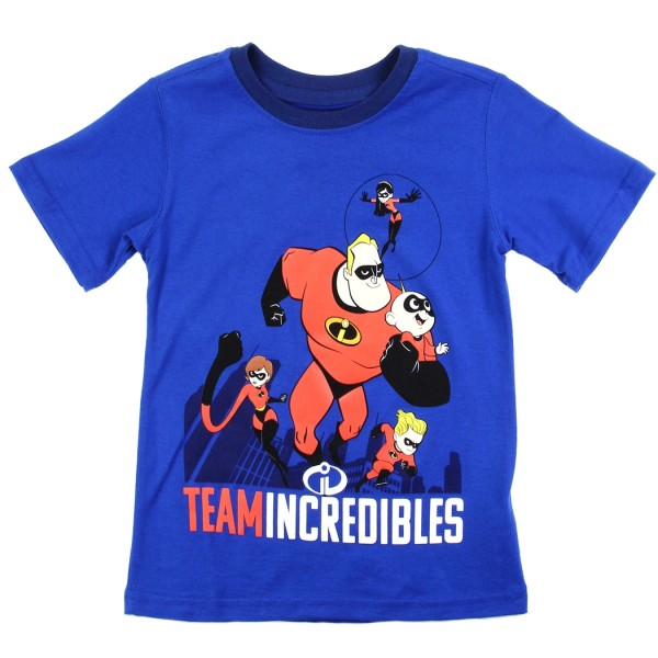 Disney Incredibles Team Incredibles Toddler Boys Shirt space City Kids  Clothing Conroe Texas. Loading zoom 22970822da53
